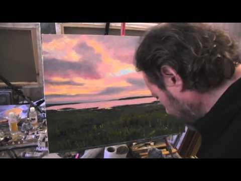 Видео урок по живописи картина маслом с игорем сахаровым