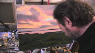 Видео урок по живописи, картина маслом с Игорем Сахаровым