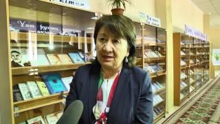 Библиотека им.А.С.Пушкина в Шымкенте. Передача книг