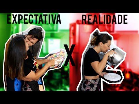VIDA DE CASADOS   Expectativa x Realidade