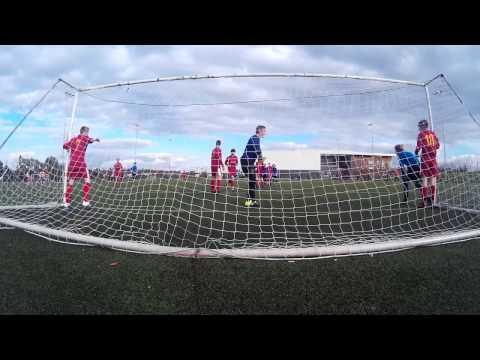 IOM COE Under 16's VS Lord Derby Academy 1st Half Part 1