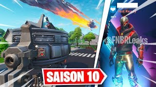 THE VISITOR VA ATTACK TO ALL THE MAP OF FORTNITE ... (NEW STARTER PACK)