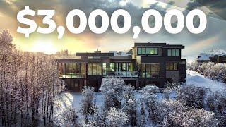 Inside a $3,000,000 Luxury Designer Acreage in Calgary's Silverhorn! - Million Dollar Property Tour