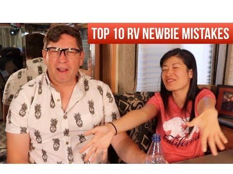 Top 10 RV Newbie Mistakes To Avoid