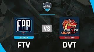 FAPTV vs DEVITA - ESL Clash Of Nations 2019 - Garena Liên Quân Mobile