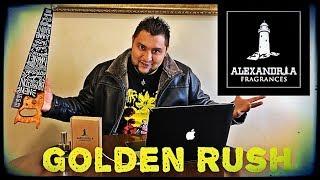 Golden Rush reseña Alexandria inspiration de Amouage Jubilation xxv