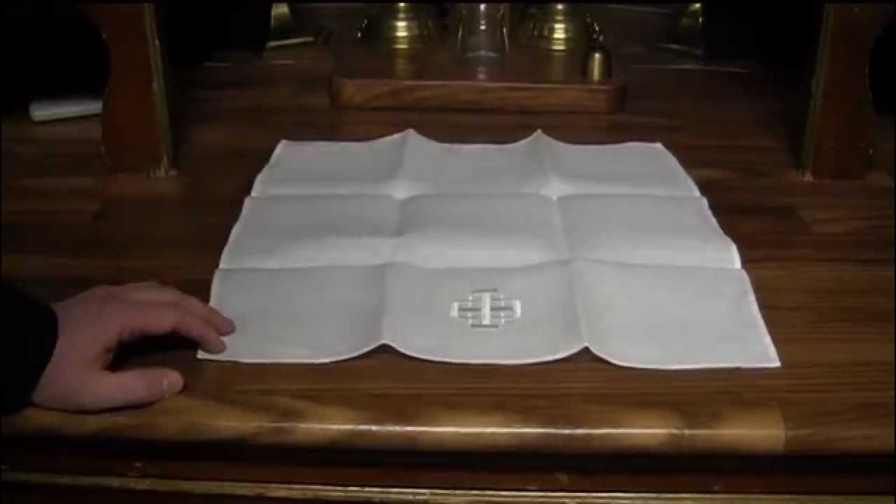 Caring For Altar Linens Youtube