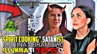 EXPOSED SPIRIT COOKING SATANIST MARINA ABRAMOVIC