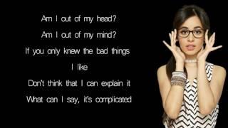 Machine Gun Kelly, Camila Cabello : Bad Things - Lyrics