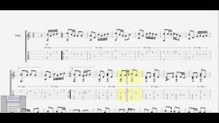 Bạc trắng tình đời (Minh Khang) guitar solo tab by D U Y