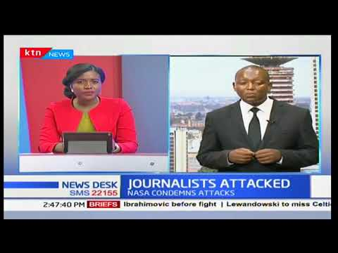 Journalist attacked at the Wiper Headquarters in preparation ahead of the NASA presser