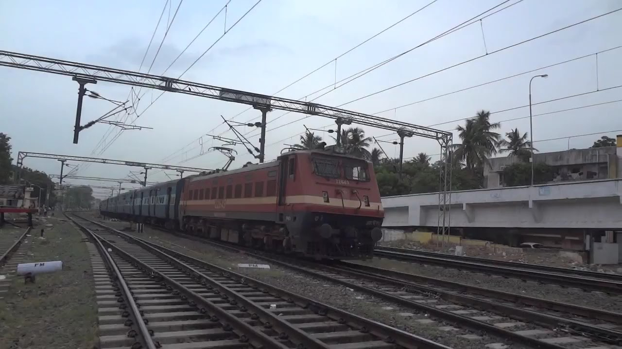 Image result for special train from egmore to senkottai