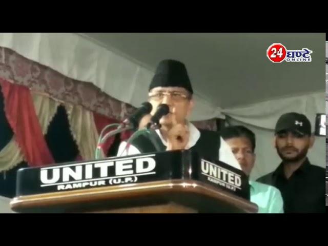 #AzamKhan की #CM_Yogi को चुनौती, मैंने 250 करोड़ लगाए हैं, आप 2500 करोड़ का ऐलान करिएगा, तब बात होगी