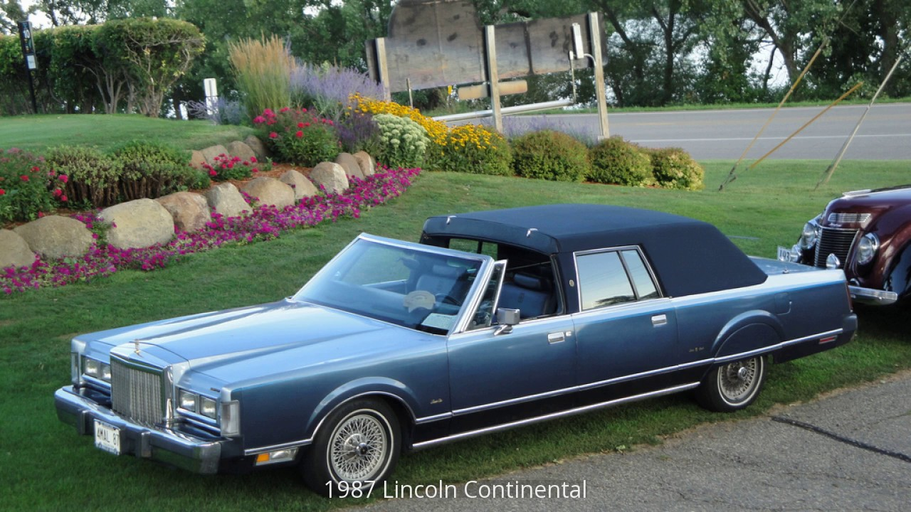 1987 lincoln continental youtube. Black Bedroom Furniture Sets. Home Design Ideas