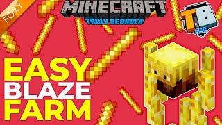 AFK BLAZE FARM | Truly Bedrock Season 2 [17] | Minecraft Bedrock Edition 1.16 SMP