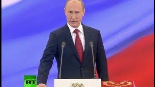 Полное видео: Инаугурация Владимира Путина 7 мая 2012