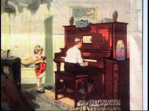 Piano Mécanique avec musiques de dance des années 20 Charleston  1
