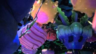 Scary faces of Blowfish Balloon Race (Tokyo Disneysea)