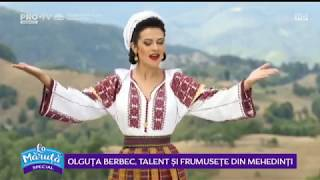 Olguta Berbec, talent si frumusete din Mehedinti