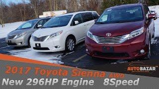 2017 Toyota Sienna Limited AWD видео. Тест Драйв Тойота Сиенна AWD 2017 на русском. Авто из сша.