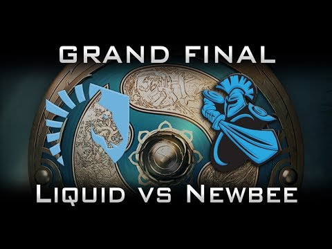 Liquid vs Newbee TI7 Grand Final Highlights The Internationa