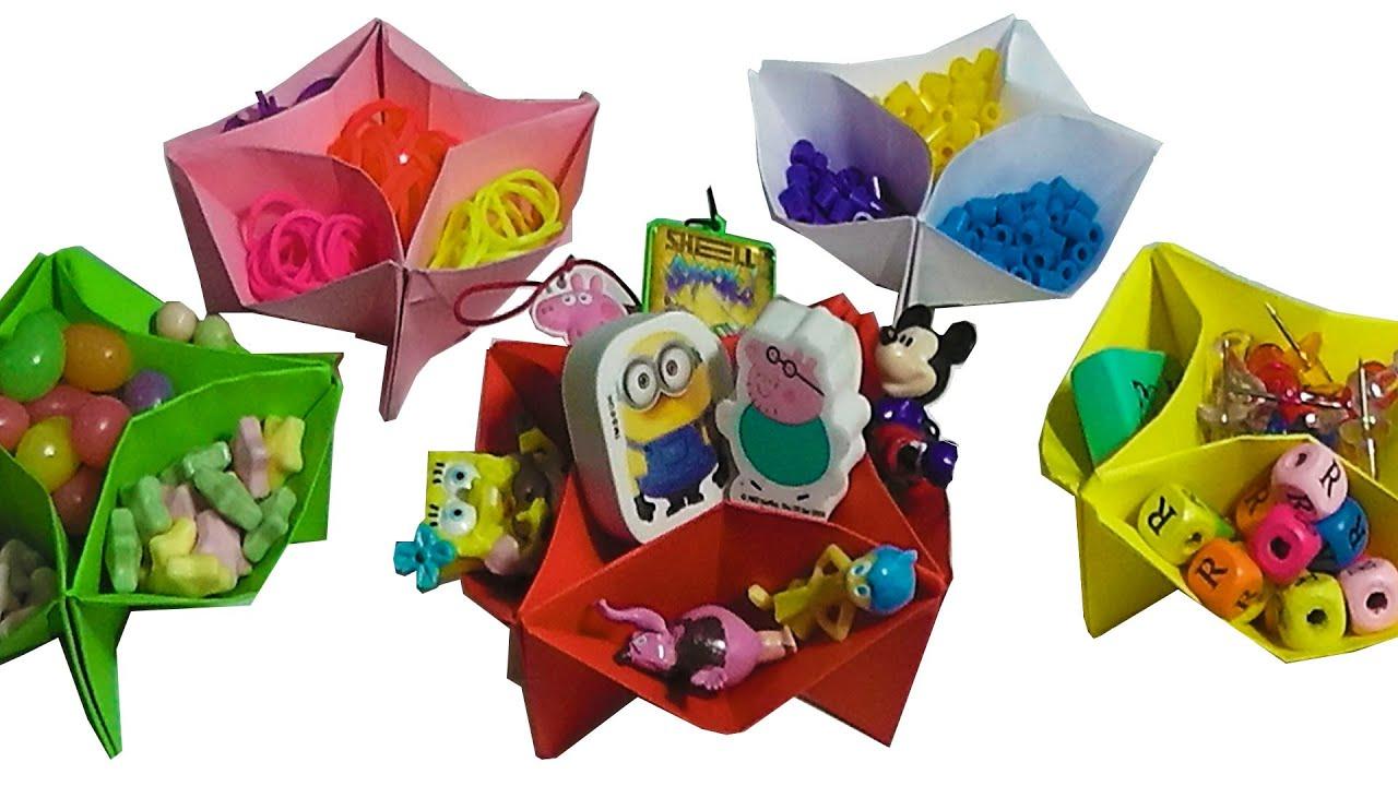 Manualidades para vender regalar faciles de papel para ni os como hacer una caja organizadora - Manualidades para vender faciles ...