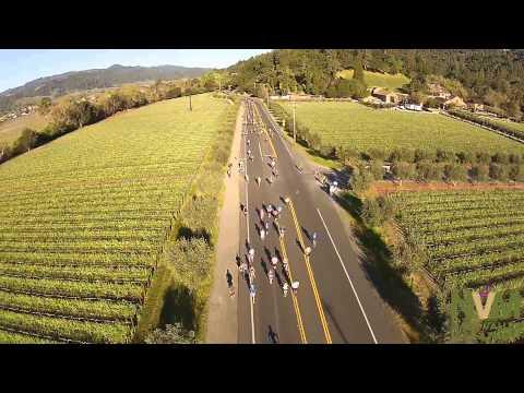 Napa Valley Marathon Aerial Highlights