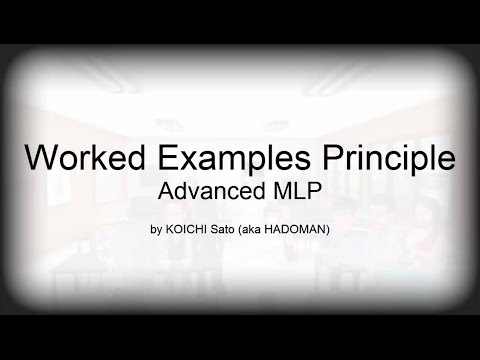 MLPs - Worked Examples Principle