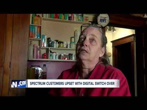Spectrum Customers Upset With Digital Switch Over