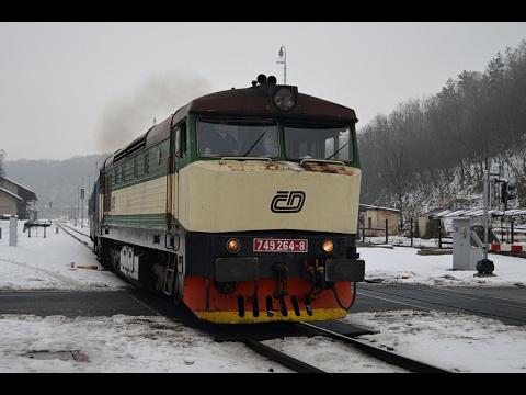 749 264 na R 1148 + nehoda R 1147 v Přepeřích 4.2.2017