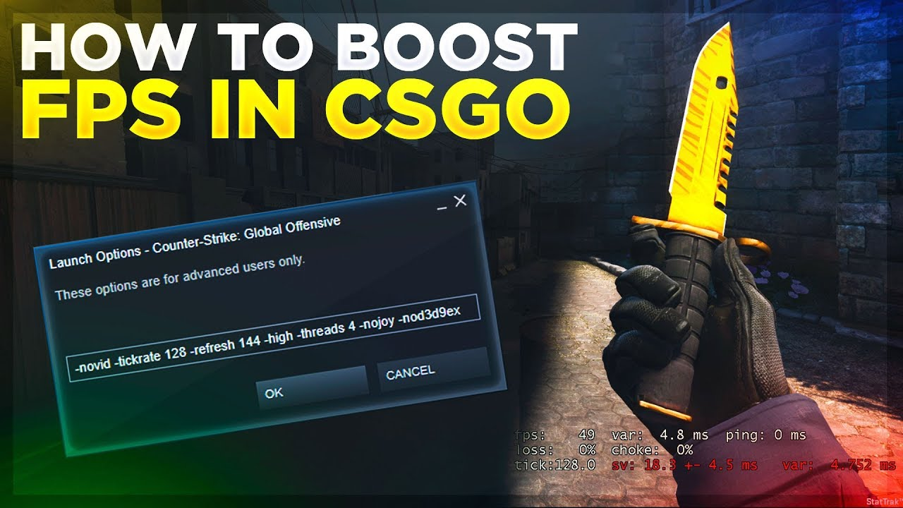 How to boost and increase your FPS in CSGO (2019)!