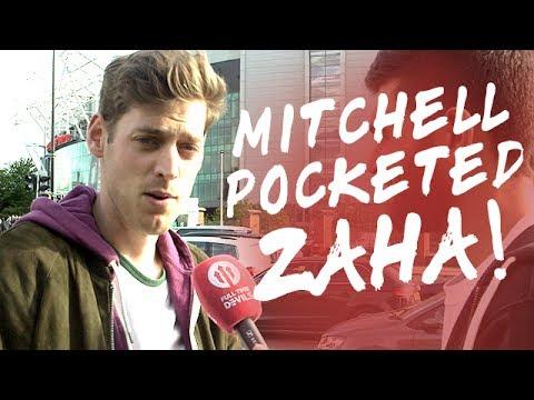 Demetri Mitchell Pocketed Zaha! | Manchester United 2-0 Crystal Palace | FANCAM