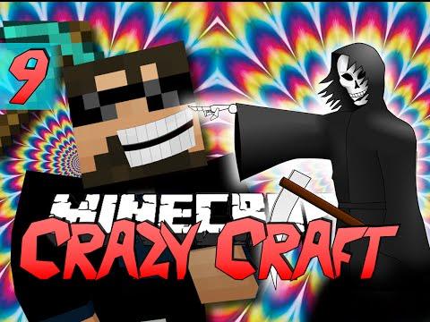 Minecraft CRAZY CRAFT 2.0 | The Slow Death Prank! [9]