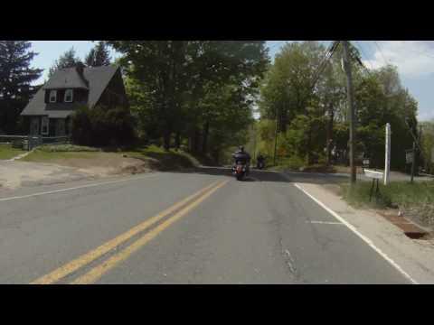 Motorcycle Ride on Rt. 57 Southwick, Ma.