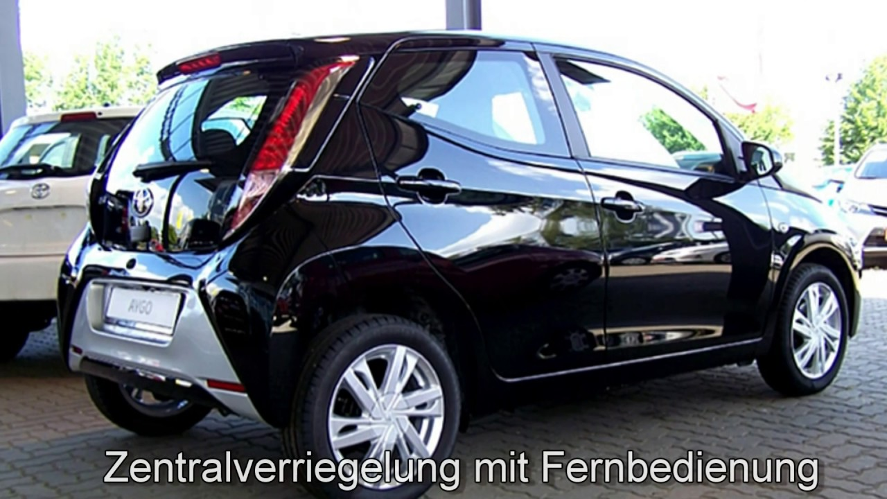 toyota aygo x play touch 0n264779 schwarz autohaus s k l neburg youtube. Black Bedroom Furniture Sets. Home Design Ideas