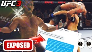 Khabib EXPOSING THE FAKES In The DMs! Heel Dman Cheesing? EA Sports UFC 3 Online Ranked Gameplay