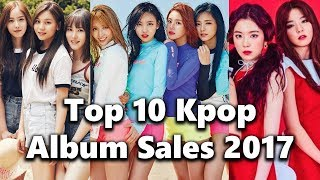 [TOP 10] Kpop Girl Group Album Sales 2017 - Stafaband