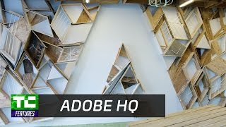 Touring Adobe headquarters