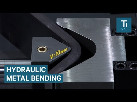 Hydraulic Bending Machine Curves Metal With Ease