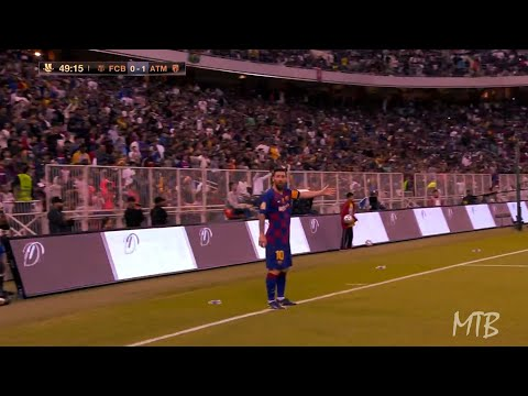 When Lionel Messi Does Everything To Win But It's Not Enough ● 5 Examples