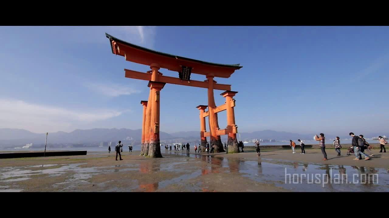 Scenery of Miyajima Hatsukaichi city Hiroshima Japan. 宮島をゆく - ViYoutube