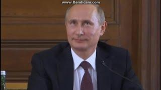Пьяный Путин - посмотрите на движения
