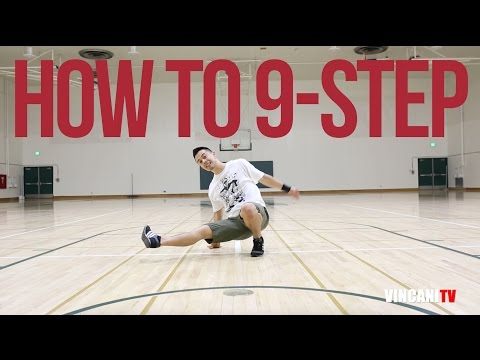 How to Breakdance | 9-Step | Footwork 101