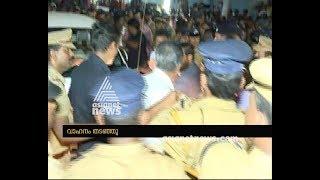 Protest against Pinarayi Vijayan at Vizhinjam
