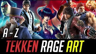 TEKKEN MOBILE Rage Art Attack New Players Old Player Level 60 Full Power Halloween Special