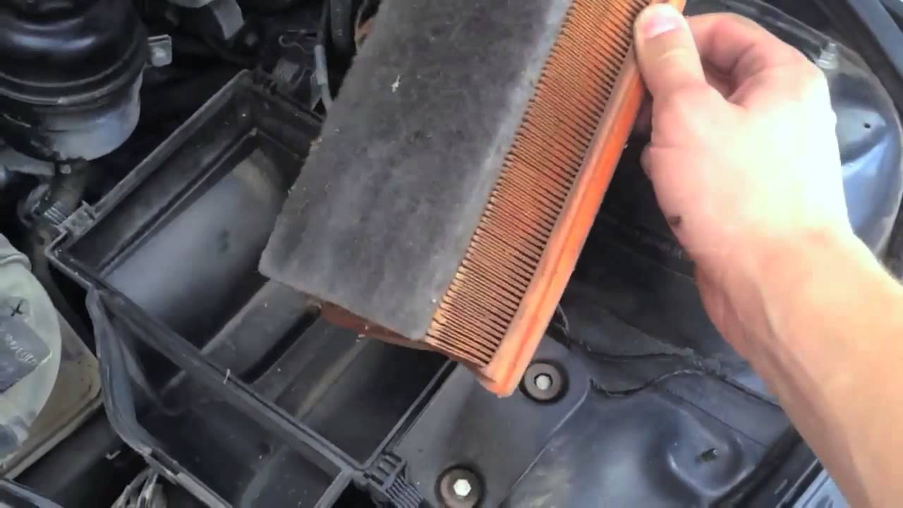 Bmw e46 air filter replacement installation diy how to guide youtube