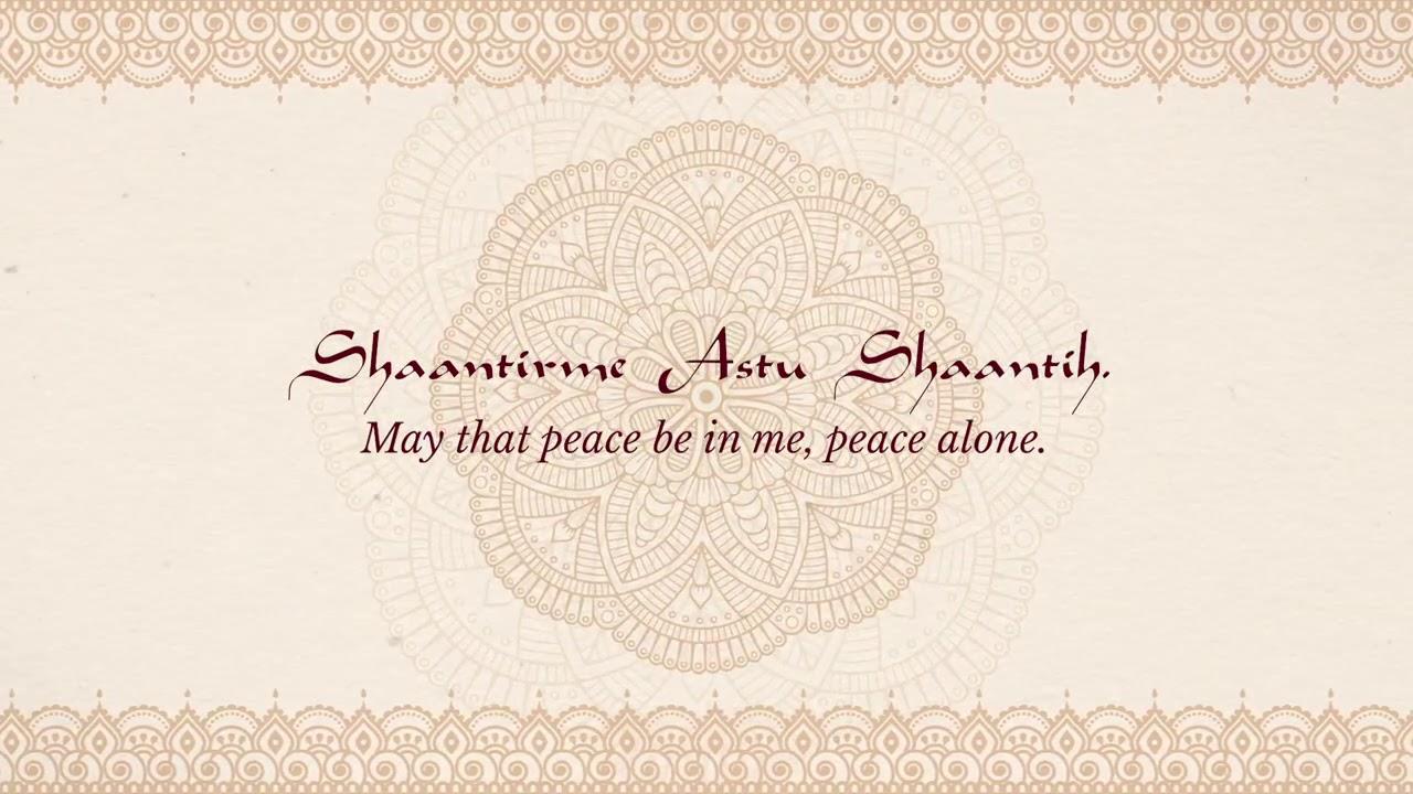 Ravi Shankar's Chants of India - 'Vedic Chanting (Two)' (Lyric Video)