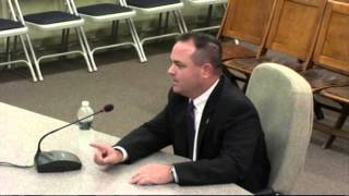 Middleborough Police Chief Interviews 8-13-14 with Board of Selctmen