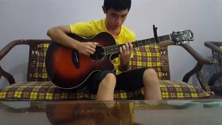 CHEN (EXO) & Punch - Everytime (guitar cover)