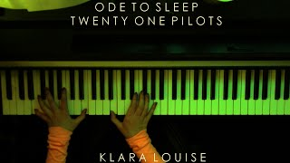 ODE TO SLEEP | Twenty One Pilots Piano Cover